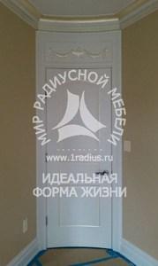 Радиусная дверь комплект