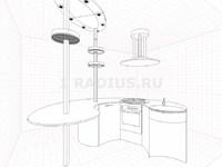 Круглая кухня