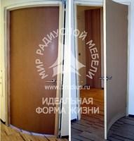 Радиусная дверь недорогая