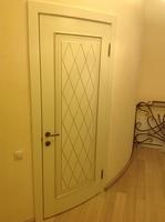 радиусная межкомнатная дверь