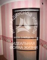 Радиусная дверь перегородка